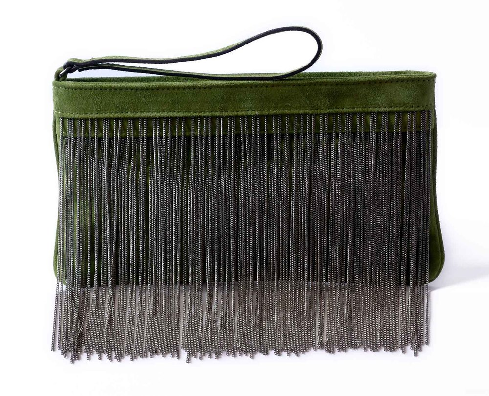 GOGO CLUTCH GREEN SUEDE.jpg