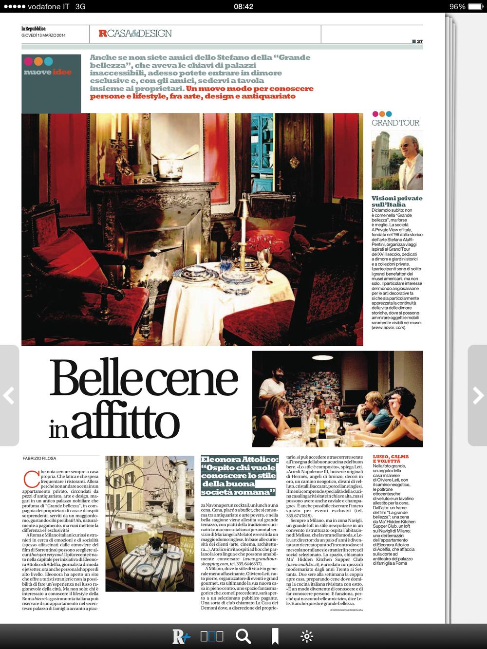La Repubblica - Casa&Design