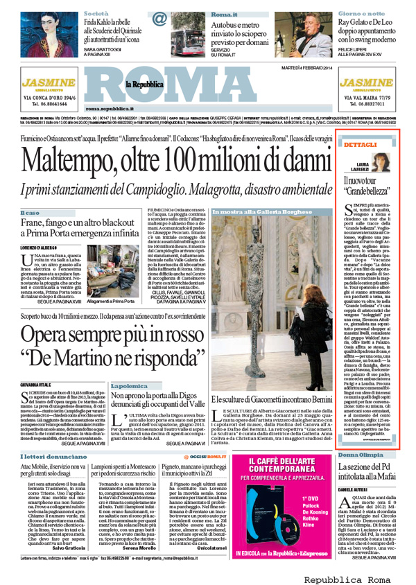 La Repubblica - Roma