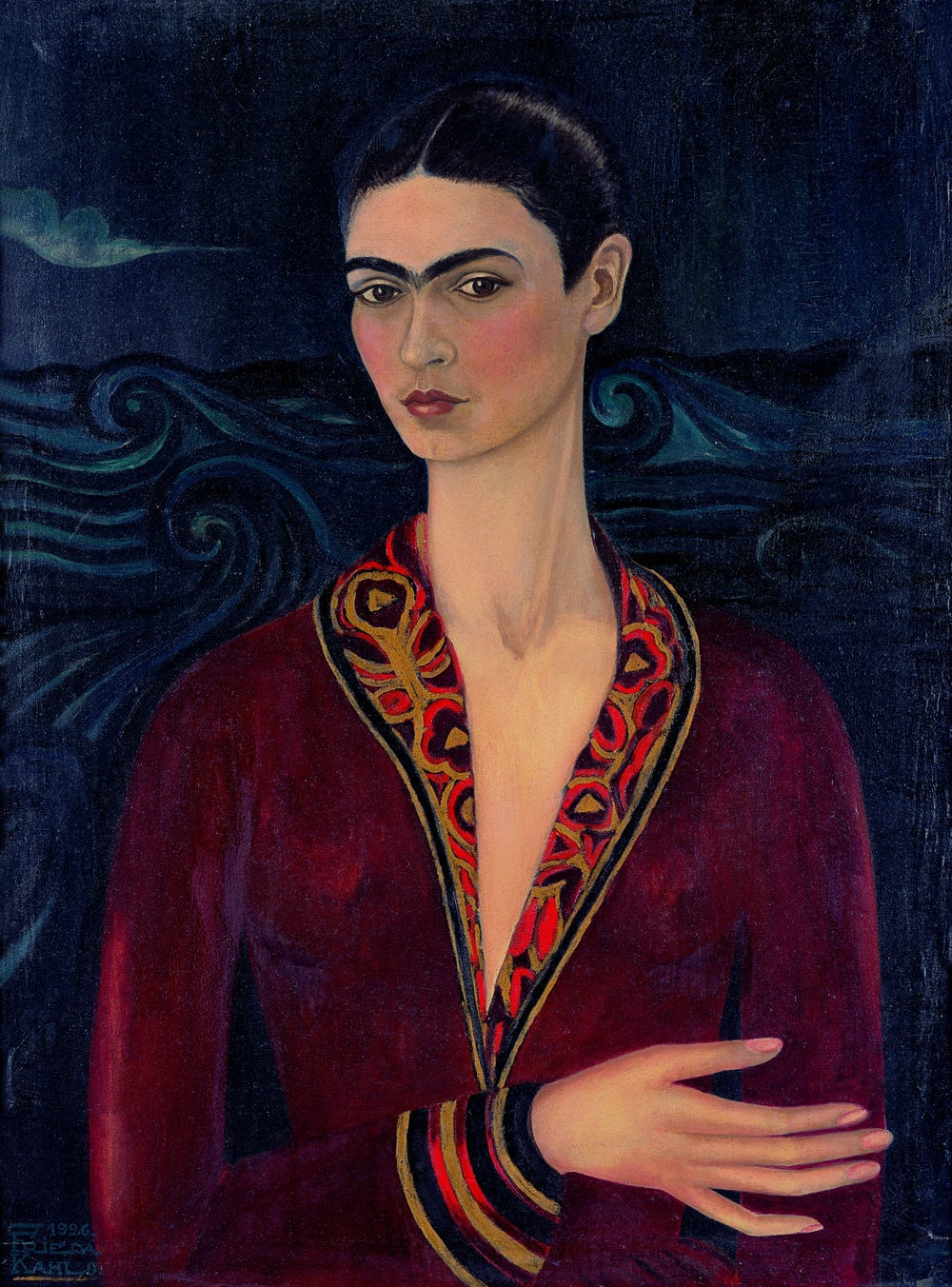 03 - Frida Kahlo - Autoritratto con vestito di velluto.jpg