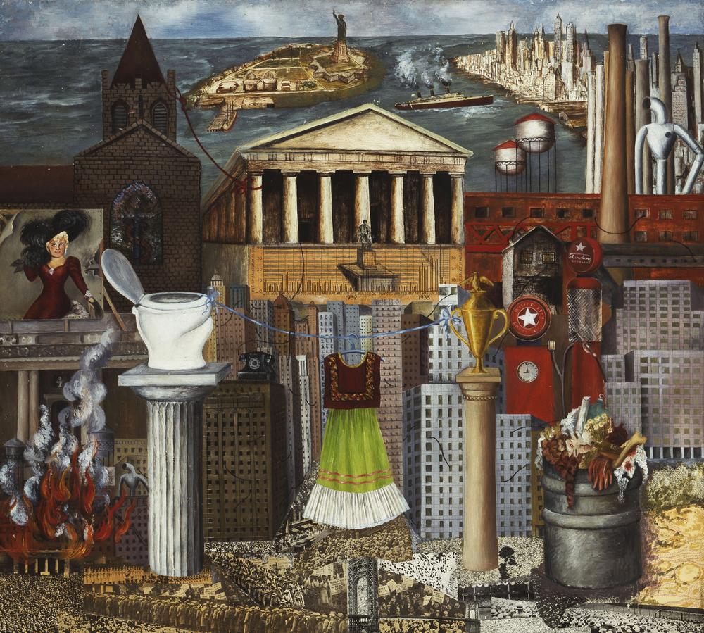 18 - Frida Kahlo - Il mio vestito giace là, o New York.jpg