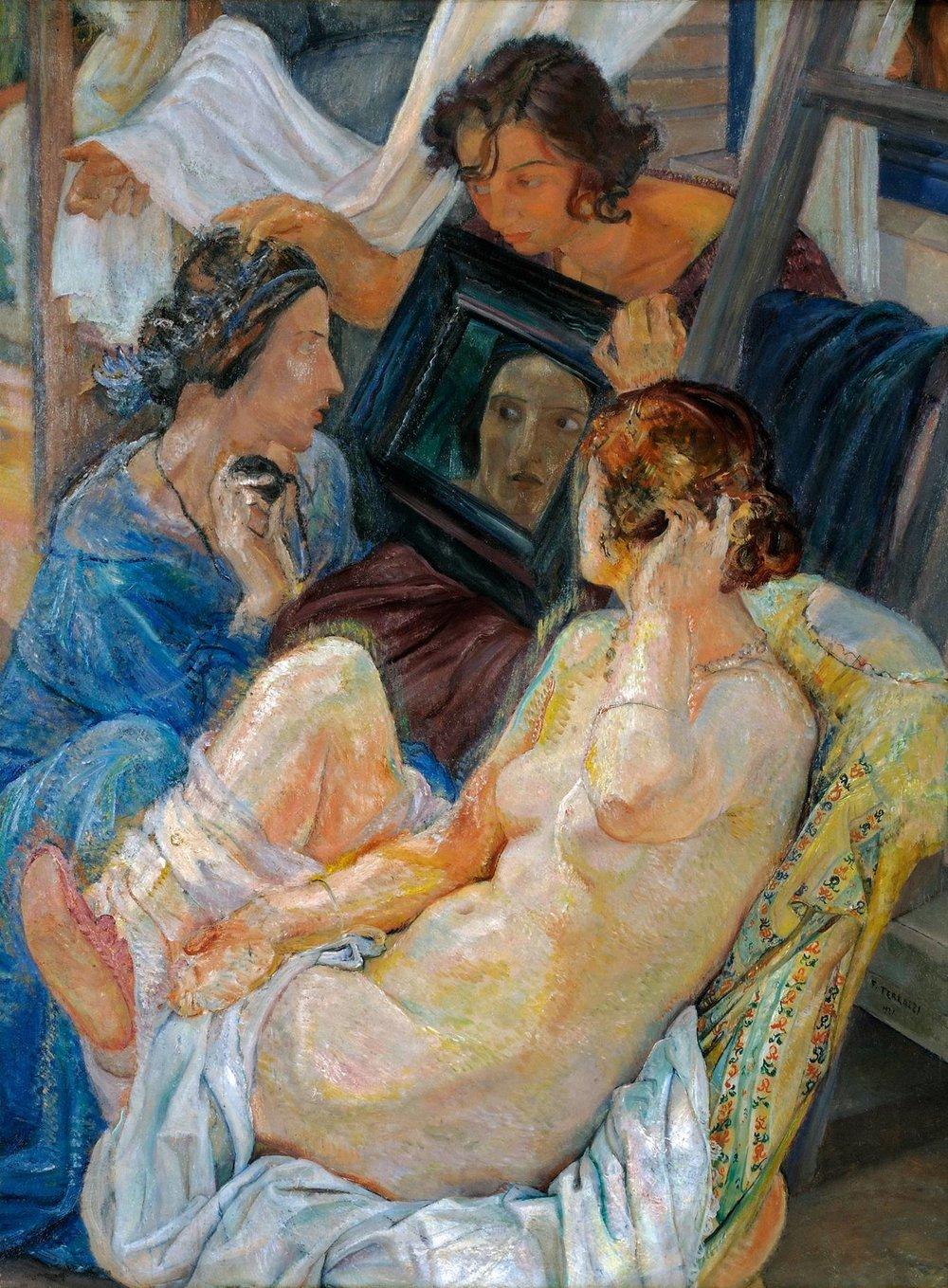 Mostra Galleria Ferruccio Ferrazzi La nuda.jpg