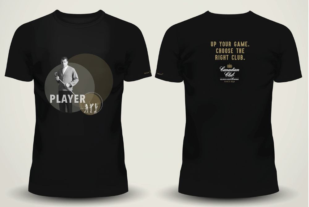 Canadian Club Activation - Player Shirt