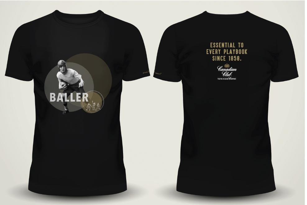 Canadian Club Activation - Baller Shirt