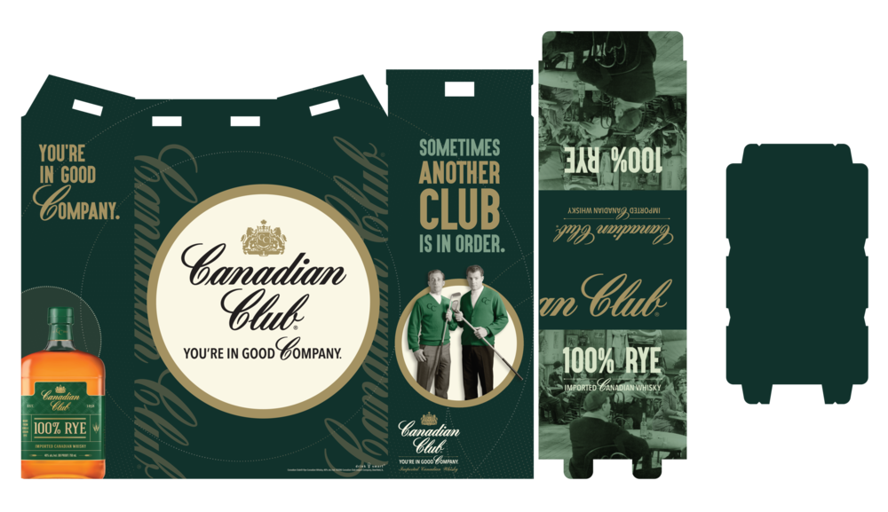 Canadian Club Activation - Rye 3 Case Bin