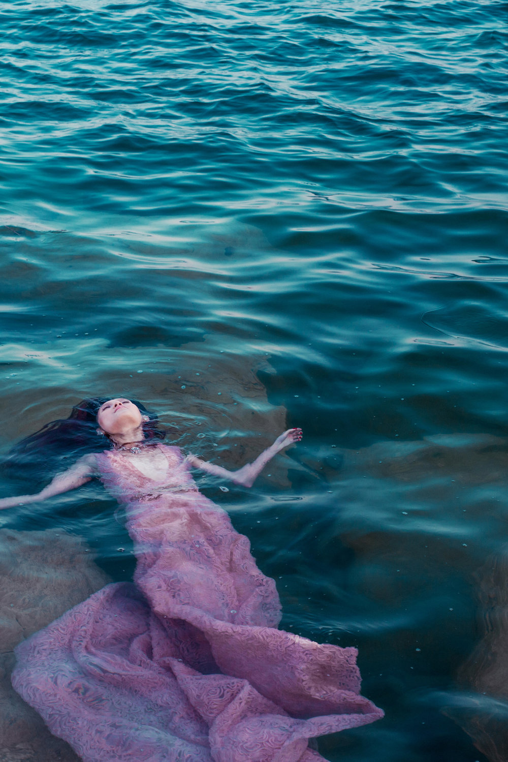 i'm a mermaid, too - for LADYGUNN Magazine