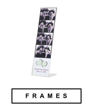 with four size to choose from we have your wholesale photo booth frame needs covered