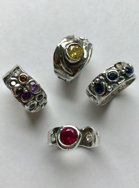 Completed rings.