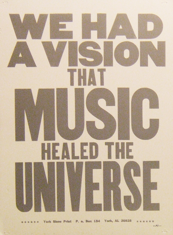 We Had A Vision...