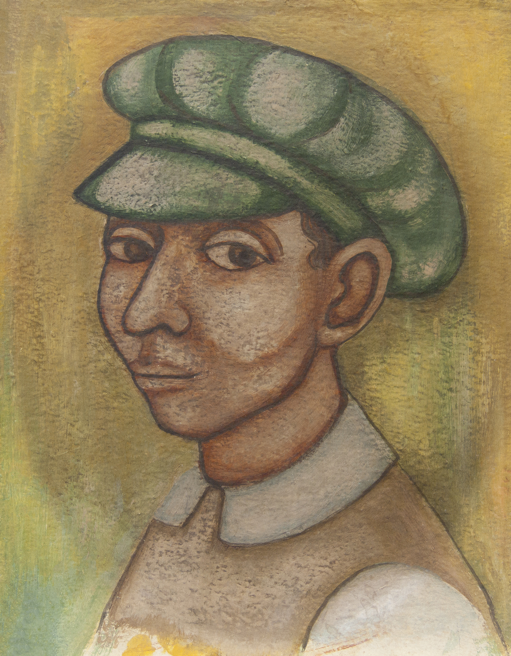 Untitled (Man in a Green Cap)