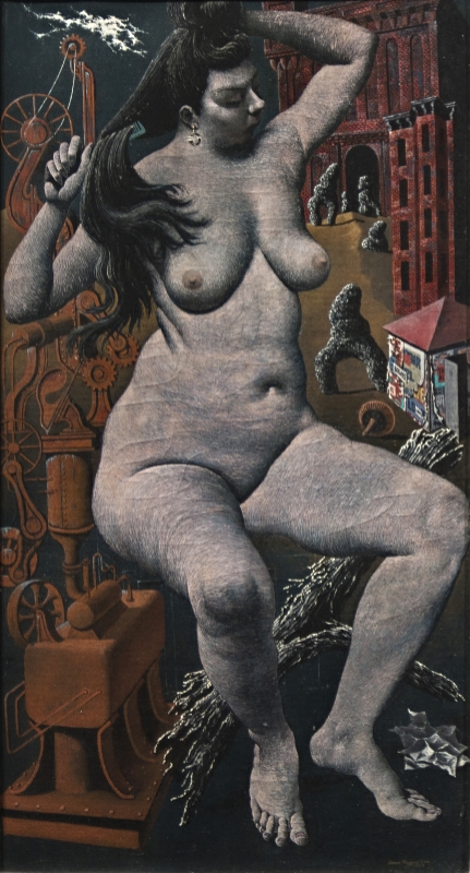 Seated Nude,   1952; oil/canvas