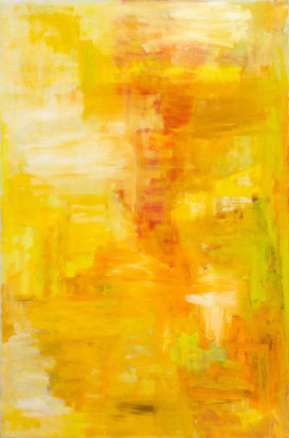 Untitled (Yellow Abstract)