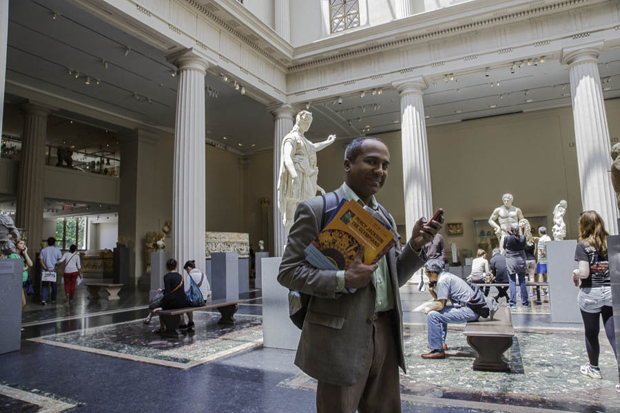Sree Sreenivasan, Chief Digital Officer at the Metropolitan Museum of Art