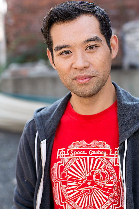 Actor, writer, musician Joe Ngo.