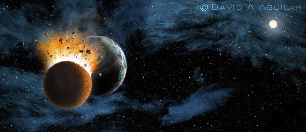 Cosmic Collision