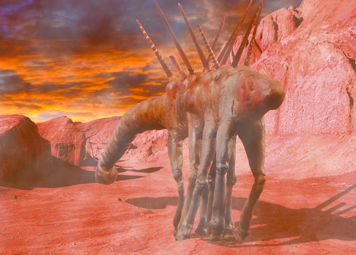 Temmet - Alien Worlds