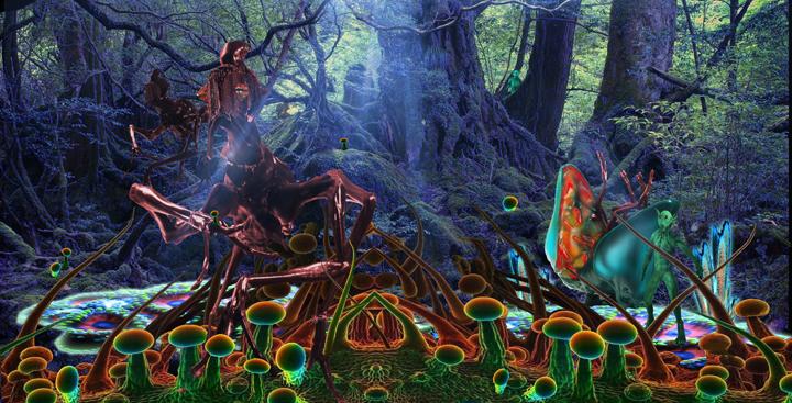 Fungoid & Antilla - Alien Worlds