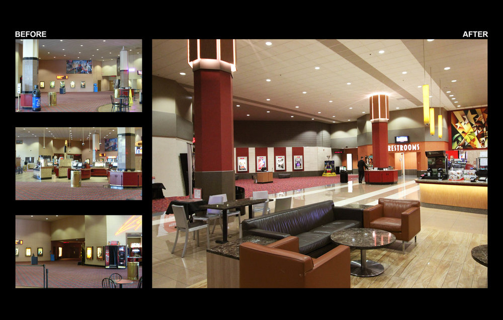 LOBBY - BEFORE/AFTER