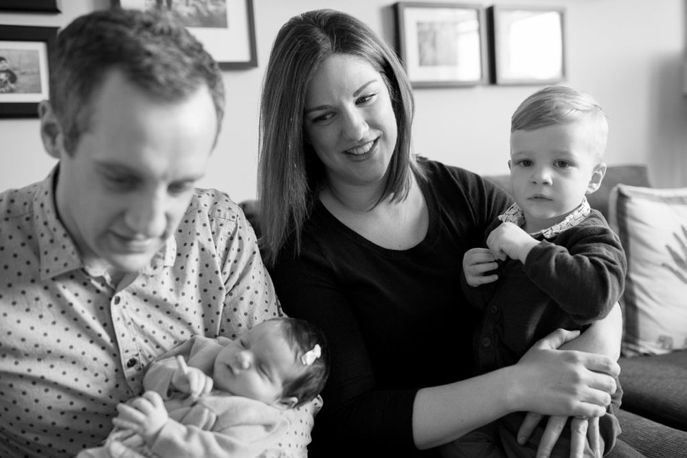 Laura Grace Photography Family Newborn