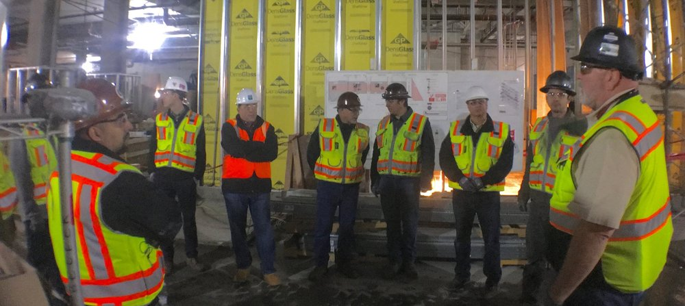 Safety Committee Jobsite Tour - Salesforce Tower
