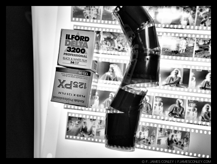 I always shoot rolls of 36 exposure film. Of course, sometimes that roll takes awhile!