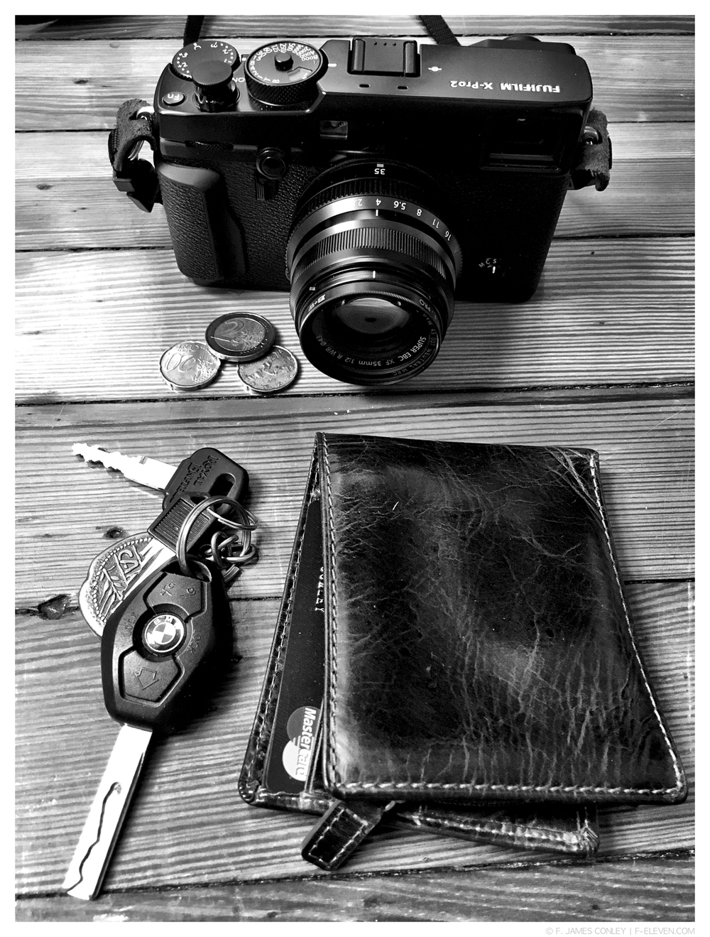 Keys, wallet, and X-Pro2. Is anything else necessary?