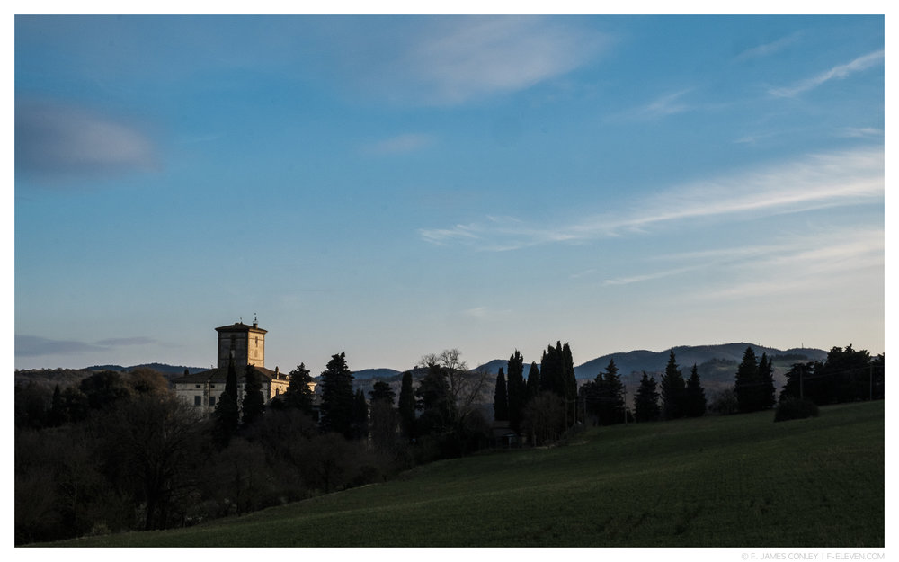 Tuscany, near Fabrizio's studio.