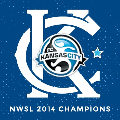09.03.14 Congrats to FC Kansas City:Your 2014 NWSL Champions!