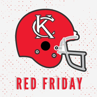 09.05.14 It is Red Friday! Kansas City Chiefs open their season on Sunday!