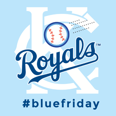 09.19.14  It is Blue Friday   in recognition of the Royals last home games this weekend!