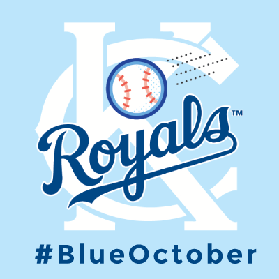 10.01.14 The Royals moved on to the American League Division Series with an EPIC win on Sept. 30! It is now #BlueOctober!