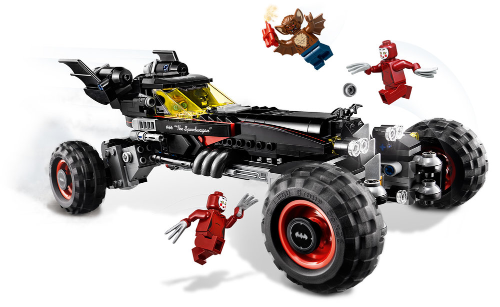 LEGO Batman Movie Batmobile main pose - Atwater Studios