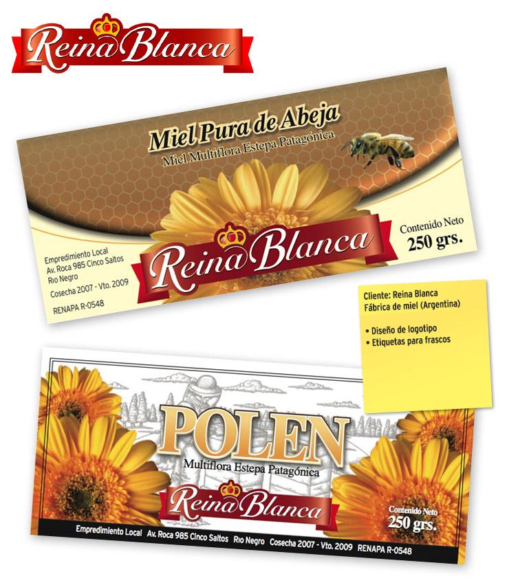 Etiquetas para miel