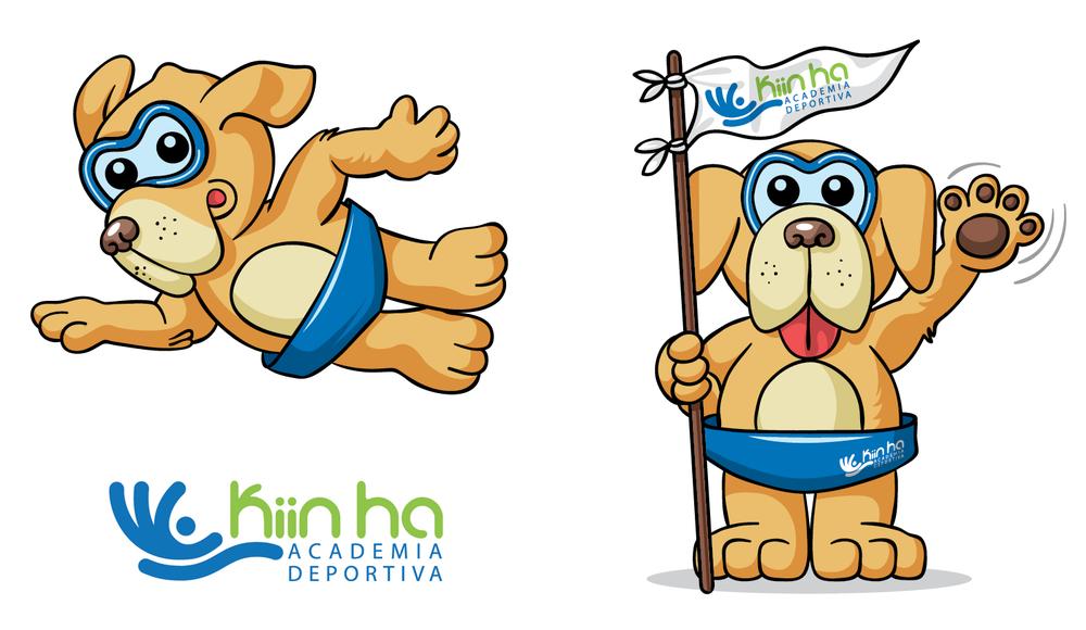 Logo y mascota corporativa