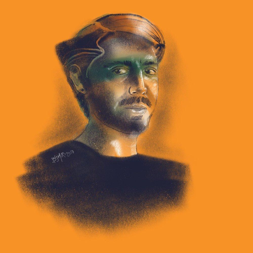 Retrato de Mariano
