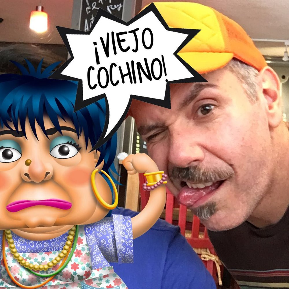 Yo con el avatar de Márgara Francisca