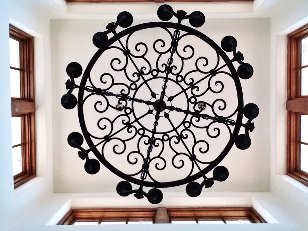 Custom designed chandelier