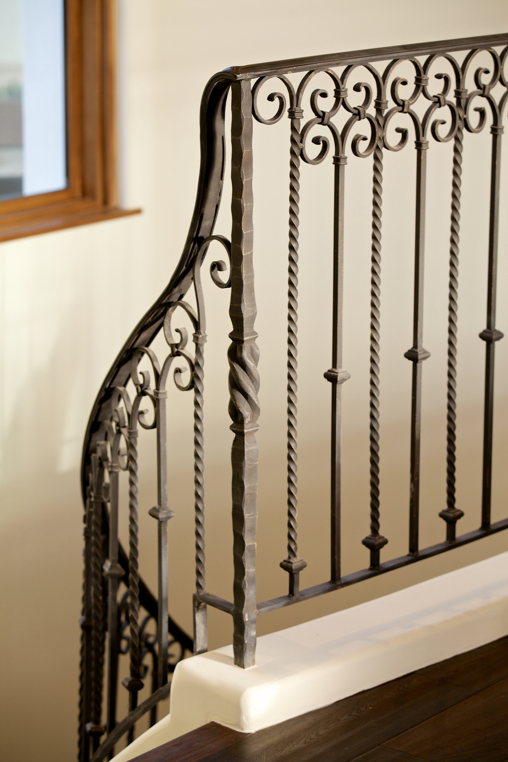 Custom Hand Forged Railing