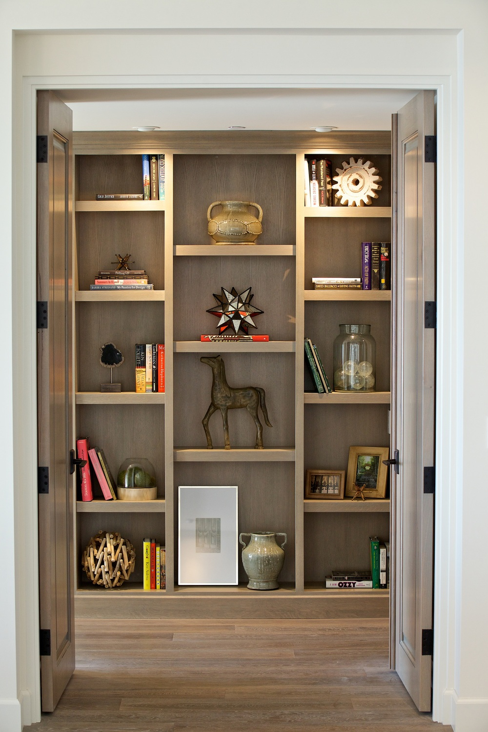 Custom Wall Shelving