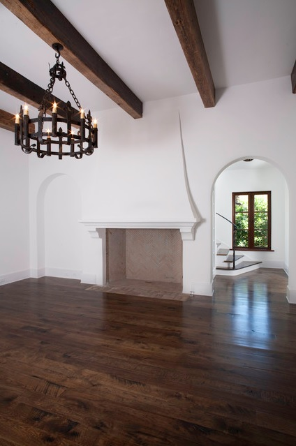 Fireplace inspiration by architect Thomas Thaddeus Truett