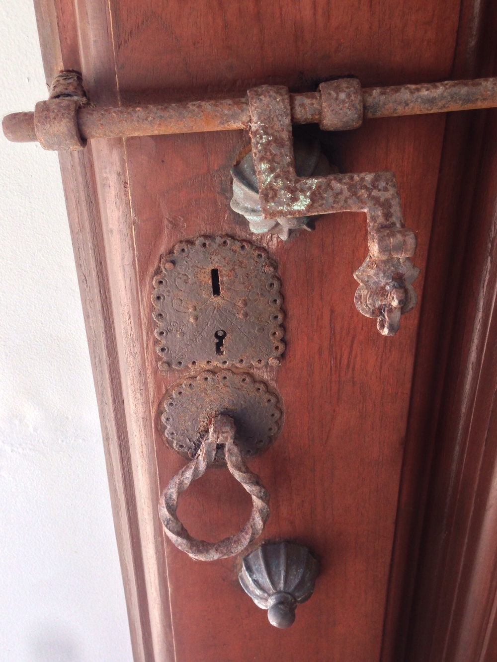 Vintage hardware is a great, and easy, detail that brings a unique quality to the home.