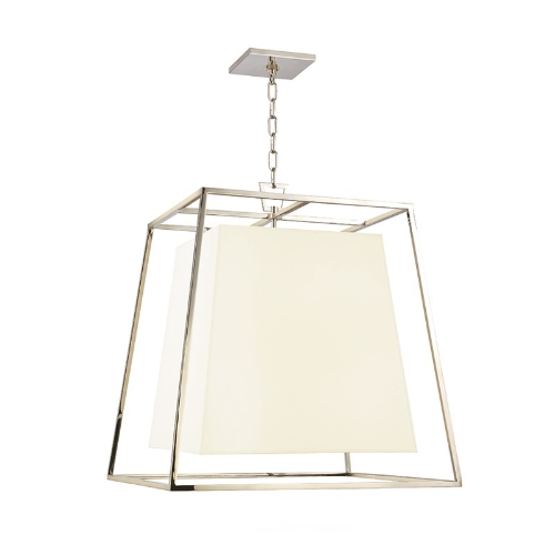 The Kyle pendant from Hudson Valley lighting is a great transitional fixture.