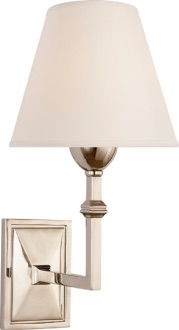 The classic looking Jane sconce by Circa lighting is perfect for hallways or bathrooms.