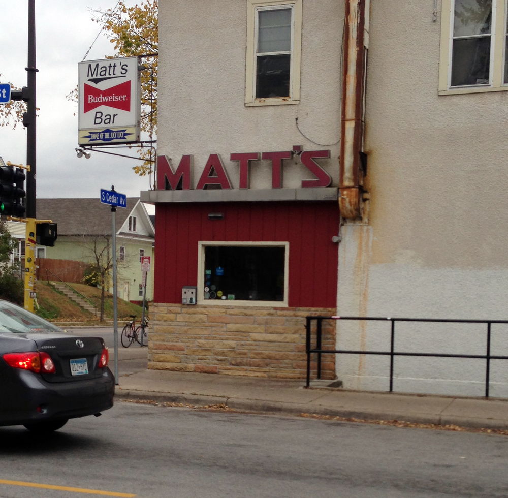 Matt's Bar & Grill - Since 1954.- 35th & Cedar, Minneapolis, MN