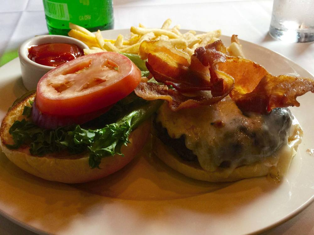 The Butcher Shop Burger from B&B Butchers & Restaurant
