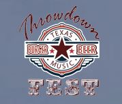 Proud Sponsor of the 2016 Throwdown Texas Burger-Beer-Music Fest - April 23, 2016.