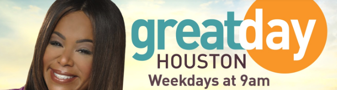 Guest on Great Day Houston, KHOU Channel 11  - July 19, 2018.