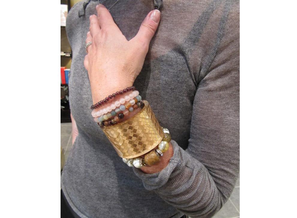 Ways to wear Sally Hobbib Rumman Jewelry