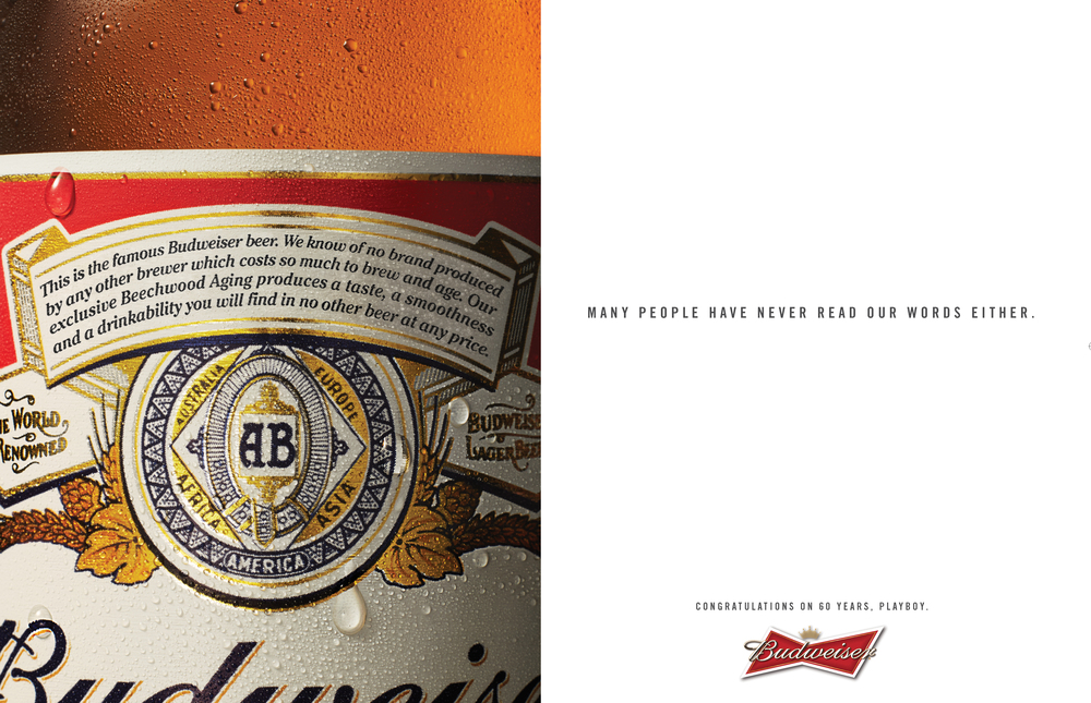 BUDWEISER FOR ANOMALY