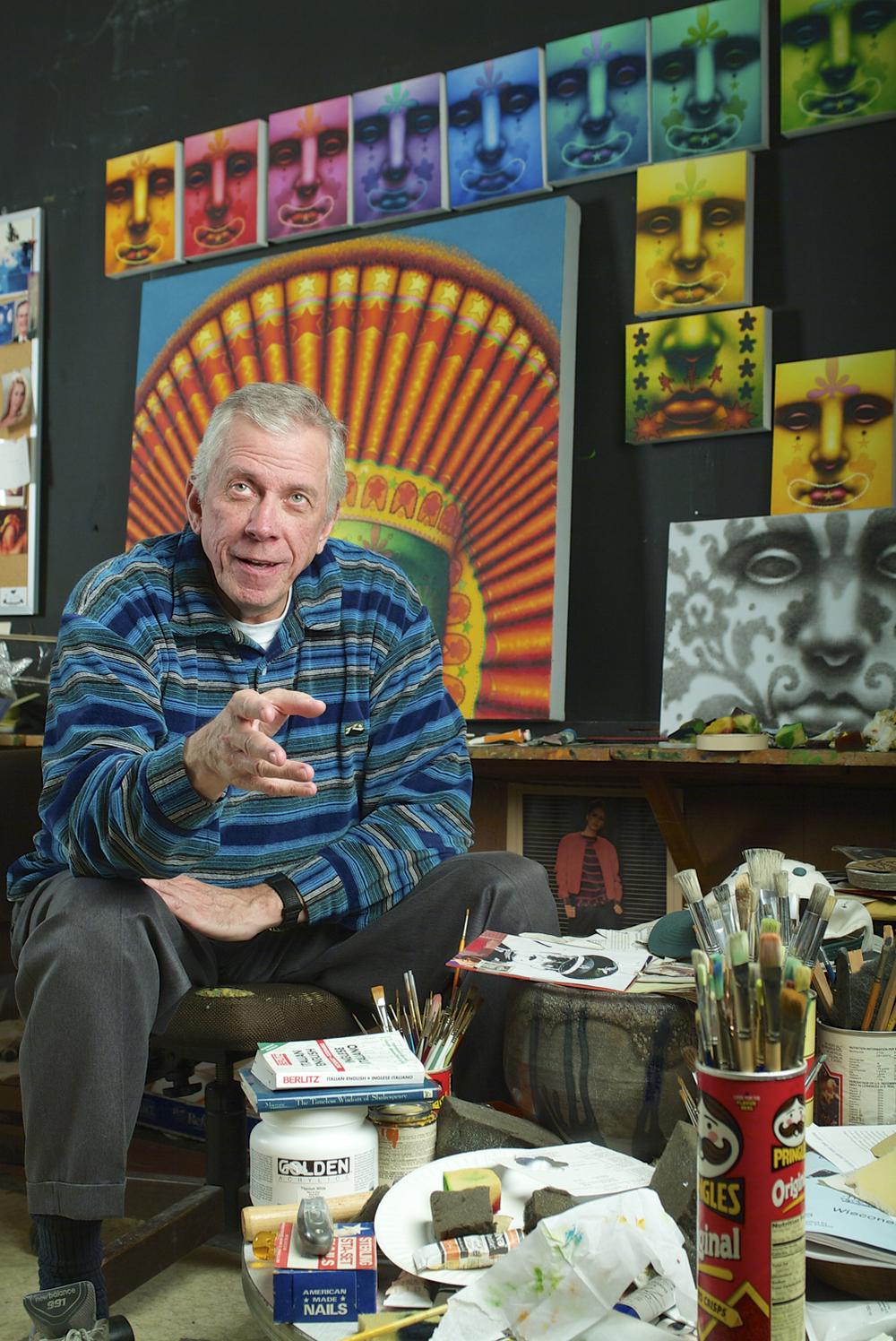 Ed Paschke, Painter